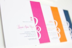 Tri-Color Invitation Set