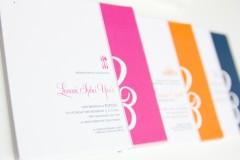 Tri-Color Invitation Set