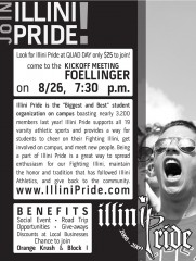 Illini Pride Quad Day Flyer