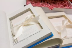 Invitation in Hollowed Book