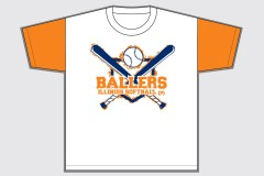 Ballers Softball Student Section T-Shirt